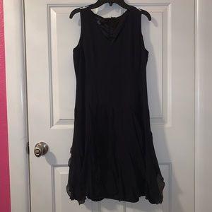 Black swift dress